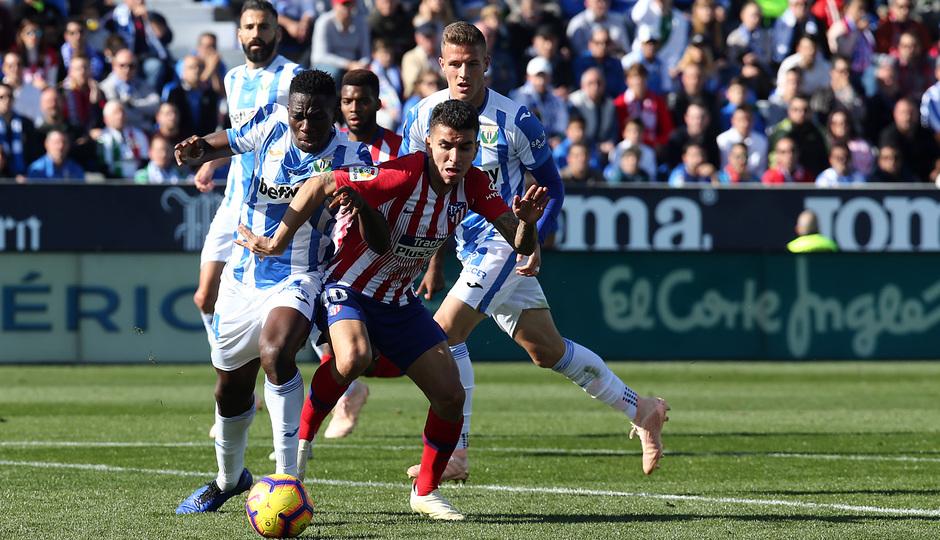 Temporada 2018-2019   Leganés - Atlético de Madrid   Correa