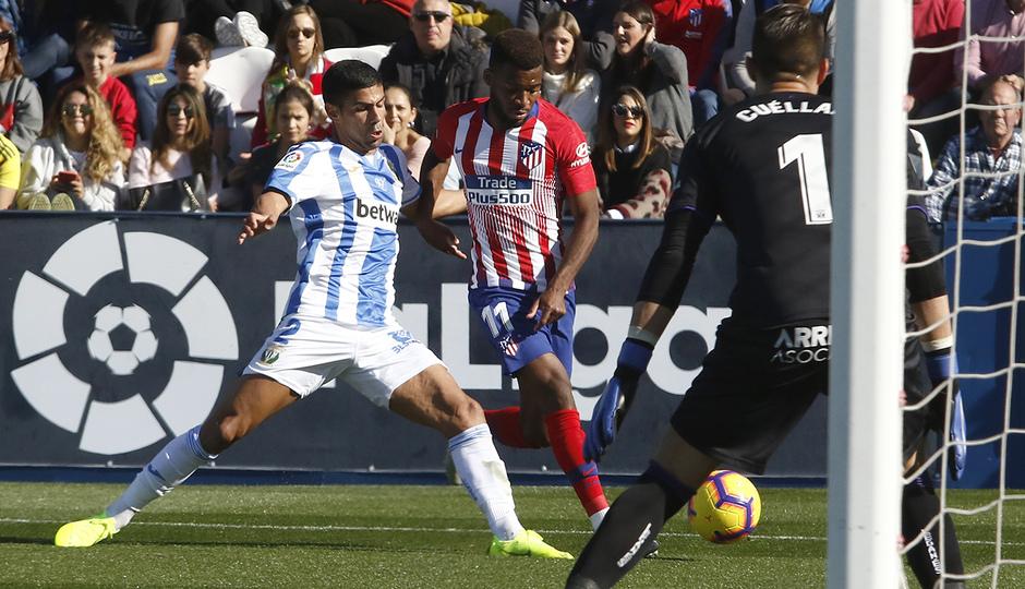 Temporada 2018-2019   Leganés - Atlético de Madrid   Lemar