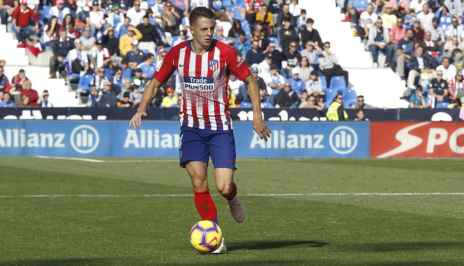 Temporada 2018-2019   Leganés - Atlético de Madrid   Arias