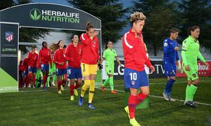 Temp. 18-19 | Atlético de Madrid Femenino-Levante UD. Salida jugadoras
