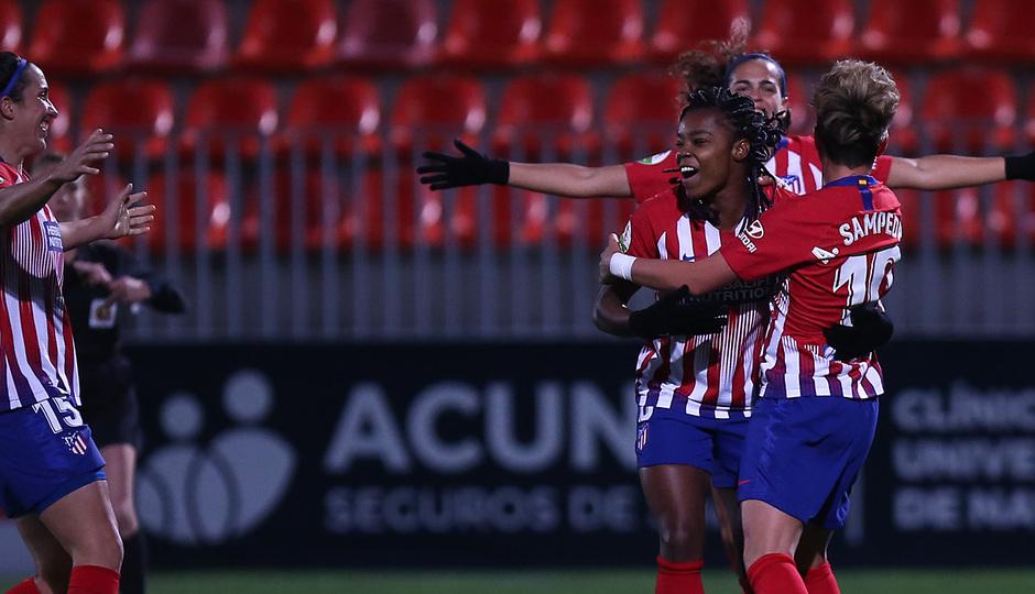 Temp. 18-19 | Atlético de Madrid Femenino-Levante UD. Gol Ludmila