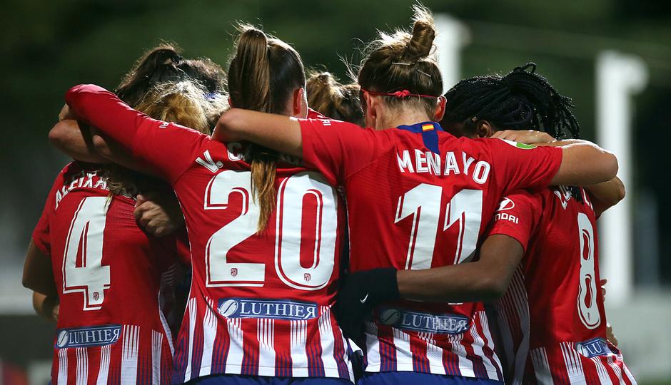 Temp. 18-19 | Atlético de Madrid Femenino-Levante UD. Celebración