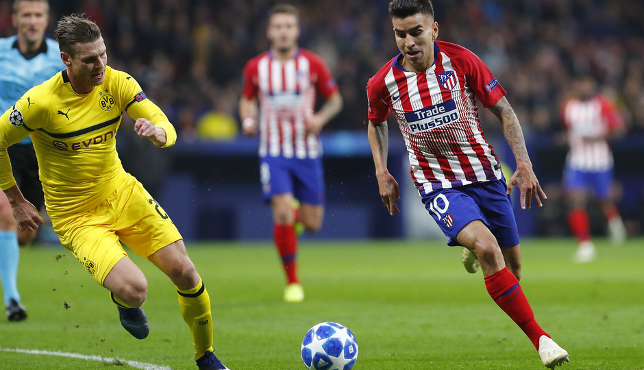 Temporada 2018-2019 | Atlético de Madrid - Dortmund | Correa
