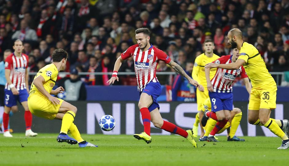 Temporada 2018-2019 | Atlético de Madrid - Dortmund | Saúl