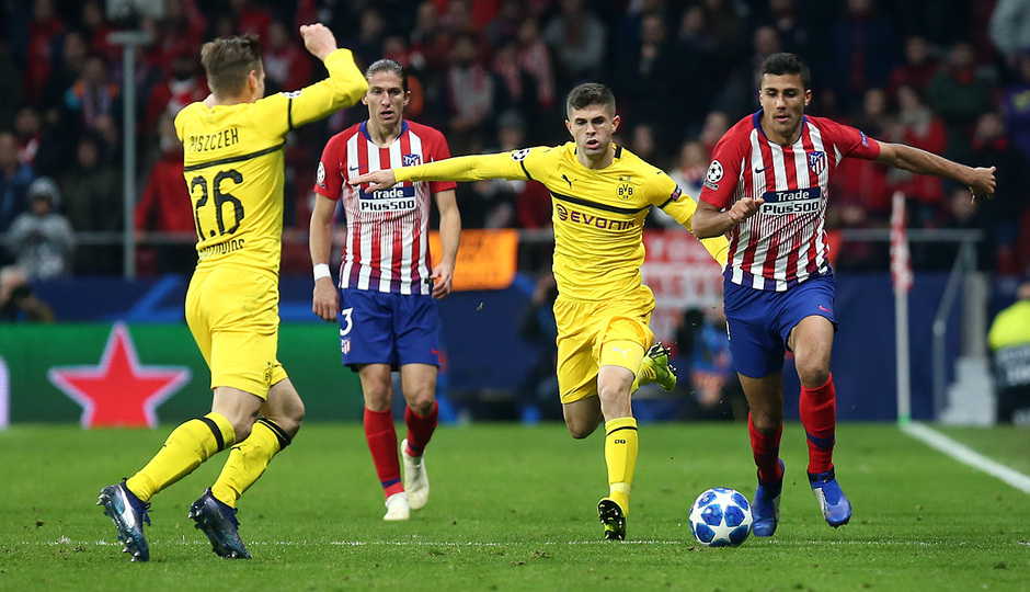 Temporada 2018-2019 | Atlético de Madrid - Dortmund | Rodrigo