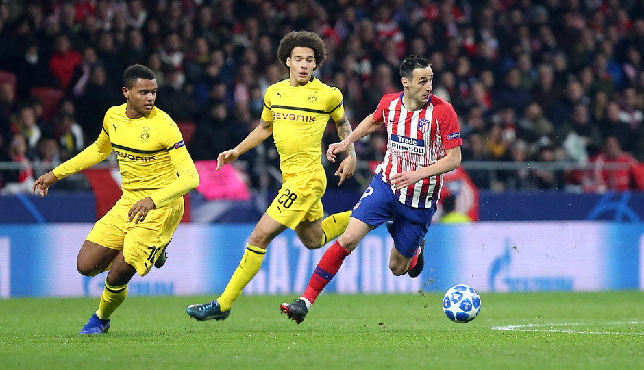 Temporada 2018-2019 | Atlético de Madrid - Dortmund | Kalinic