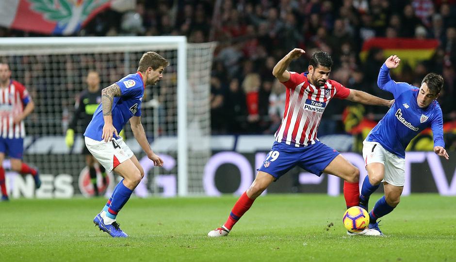 Temp. 18-19 | Atlético de Madrid - Athletic Club | Diego Costa