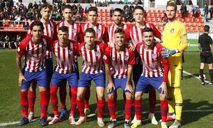 Temporada 18/19 | Atlético de Madrid B - Salmantino | Once