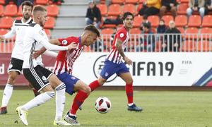 Temporada 18/19 | Atlético de Madrid B - Salmantino | Óscar Clemente