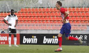 Temporada 18/19 | Atlético de Madrid B - Salmantino | Celebración Cristian Rodríguez