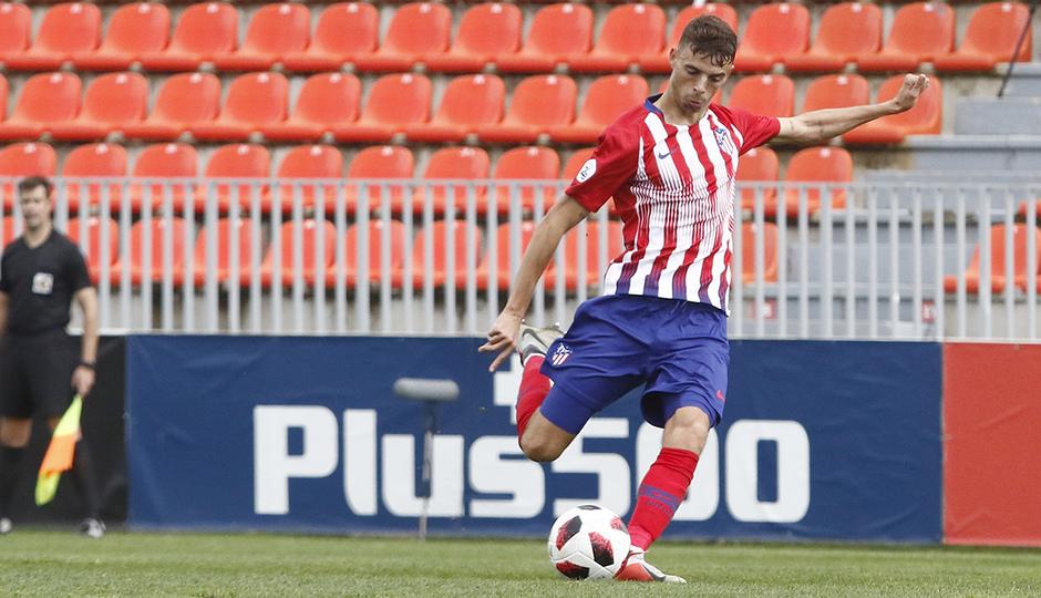 Temporada 18/19 | Atlético de Madrid B - Salmantino | Gol de Cristian