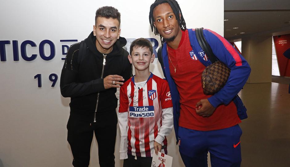 Temporada 18/19 | Atlético de Madrid - Athletic Club | Visita de Manu Oppenheimer