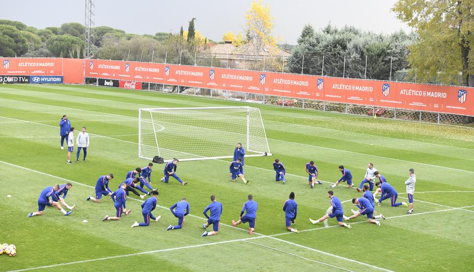 Temporada 2018-2019 | Entrenamiento Ciudad Deportiva Wanda | Grupo