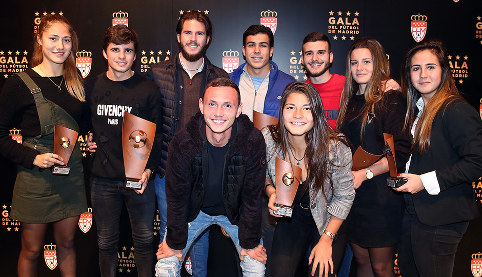 Temporada 18/19. Gala federación futbol de Madrid. Femenino