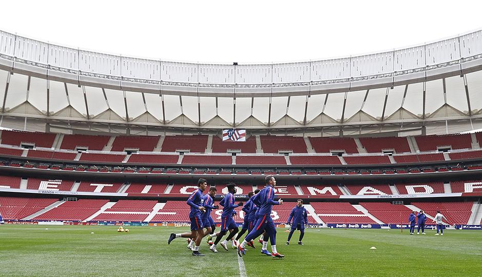 Temporada 18/19 | 22/11/2018 | Entrenamiento en el Wanda Metropolitano |
