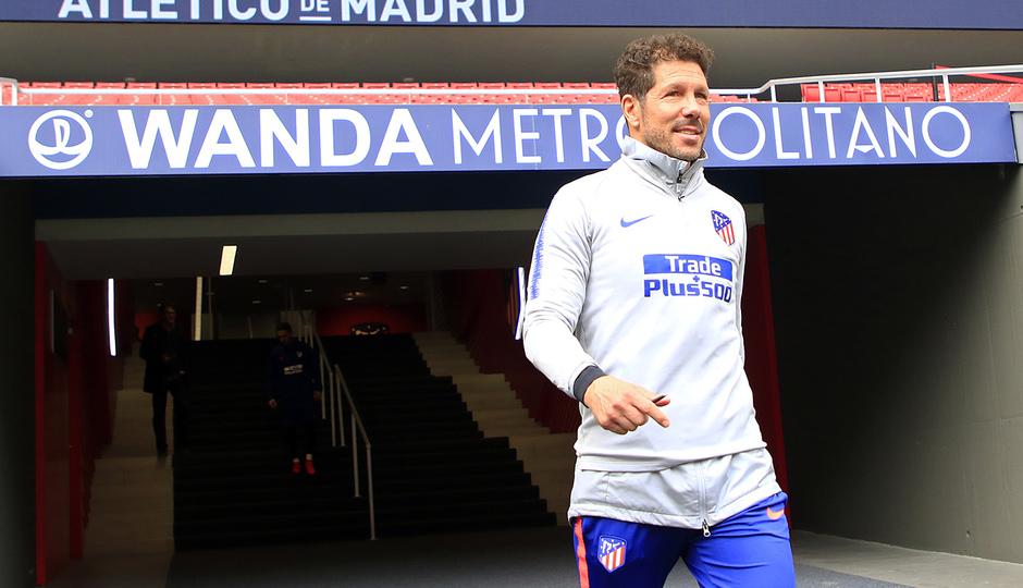 Temporada 18/19 | 22/11/2018 | Entrenamiento en el Wanda Metropolitano | Simeone