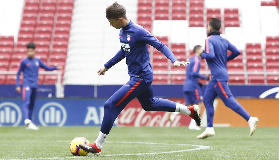 Temporada 18/19 | 22/11/2018 | Entrenamiento en el Wanda Metropolitano | Borja Garcés