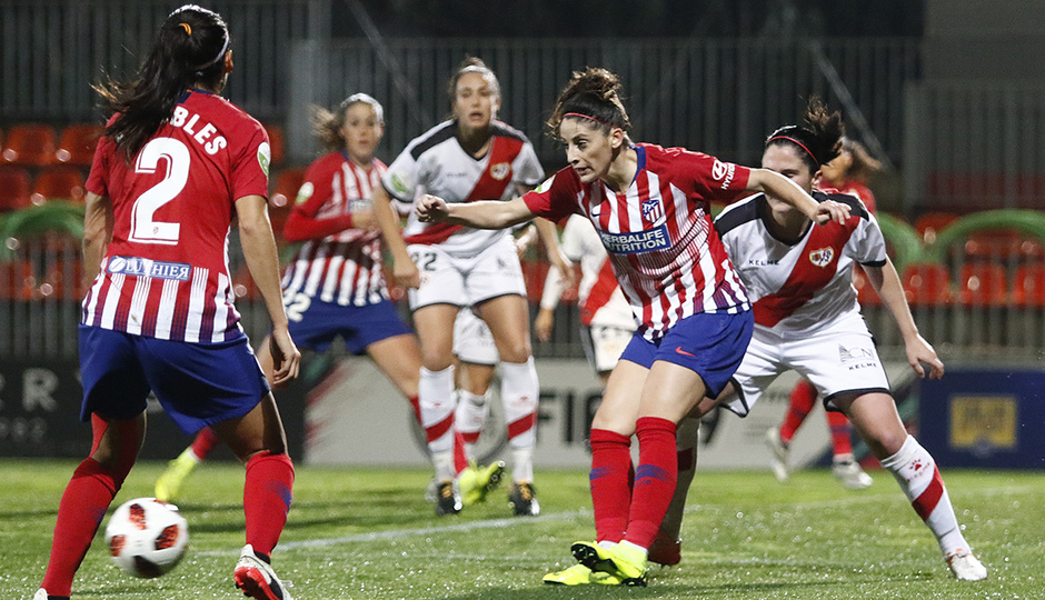 Temporada 2018-2019 | Atlético de Madrid Femenino - Rayo Majadahonda | Esther