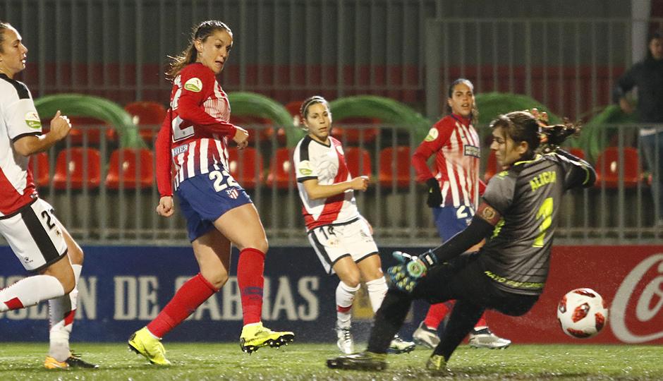 Temporada 2018-2019 | Atlético de Madrid Femenino - Rayo Majadahonda | Gol Olga García