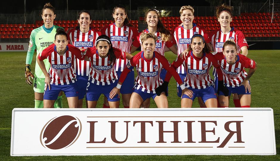 Temporada 2018-2019 | Atlético de Madrid Femenino - Rayo Vallecano | Once