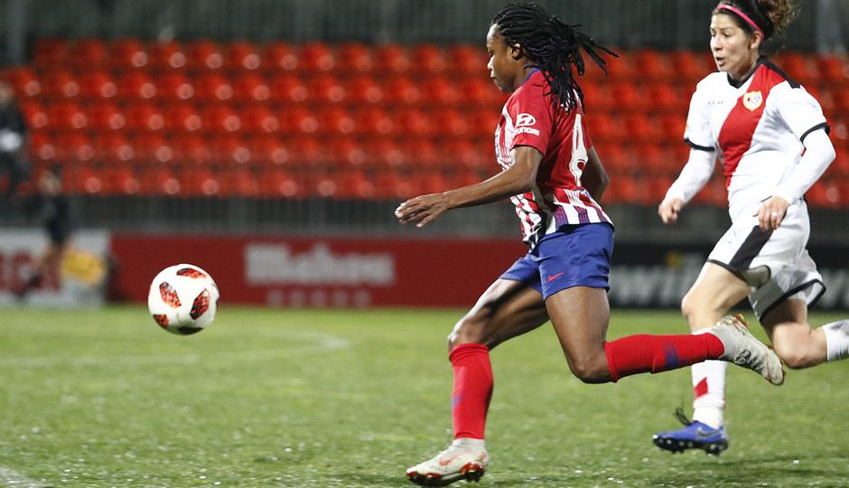 Temporada 2018-2019 | Atlético de Madrid Femenino - Rayo Vallecano | Ludmila