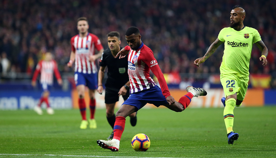 Temporada 2018-2019 | Atlético de Madrid - FC Barcelona | Lemar