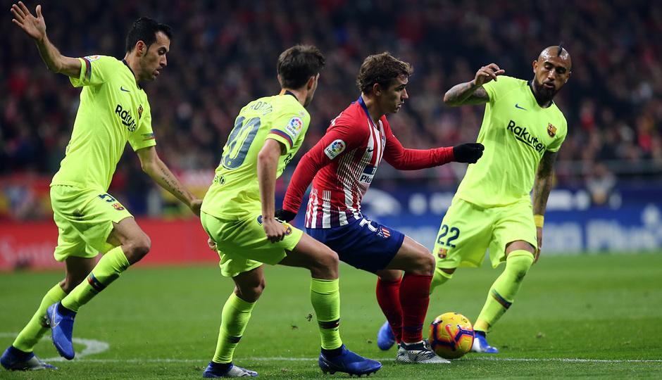 Temporada 2018-2019 | Atlético de Madrid - FC Barcelona | Griezmann