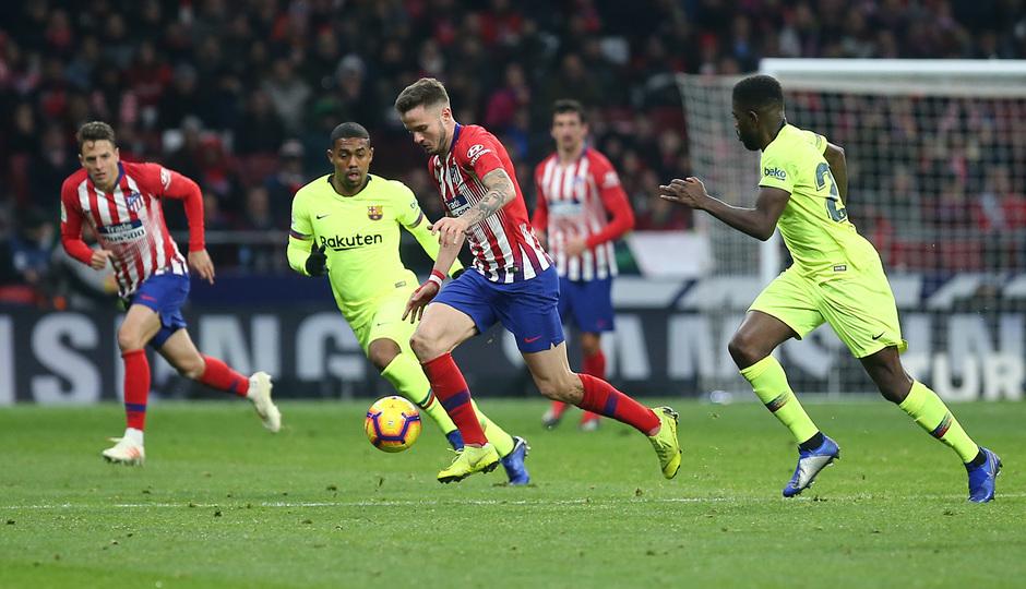 Temporada 2018-2019 | Atlético de Madrid - FC Barcelona | Saúl