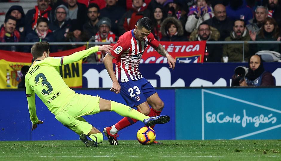 Temporada 2018-2019 | Atlético de Madrid - FC Barcelona | Vitolo