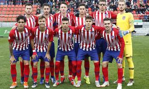 Temporada 18/19   Atlético de Madrid  B - Deportivo Fabril   Once inicial