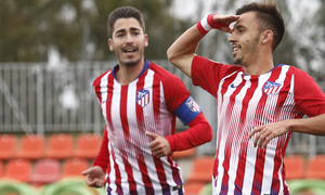 Temporada 18/19   Atlético de Madrid  B - Deportivo Fabril   Óscar Clemente