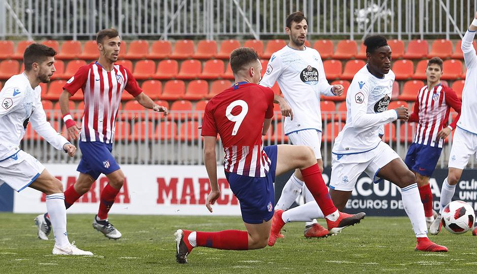 Temporada 18/19 | Atlético de Madrid  B - Deportivo Fabril | Borja Garcés