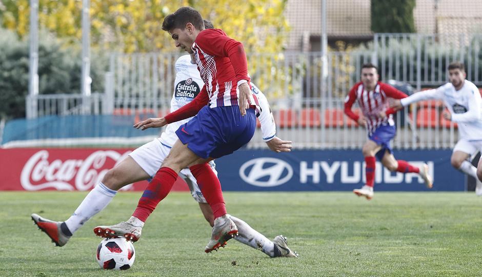 Temporada 18/19 | Atlético de Madrid  B - Deportivo Fabril | Gol