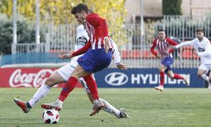 Temporada 18/19   Atlético de Madrid  B - Deportivo Fabril   Gol