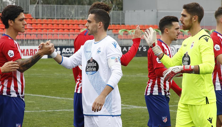 Temporada 18/19 | Atlético de Madrid B - Deportivo Fabril | Saludo