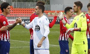 Temporada 18/19   Atlético de Madrid B - Deportivo Fabril   Saludo