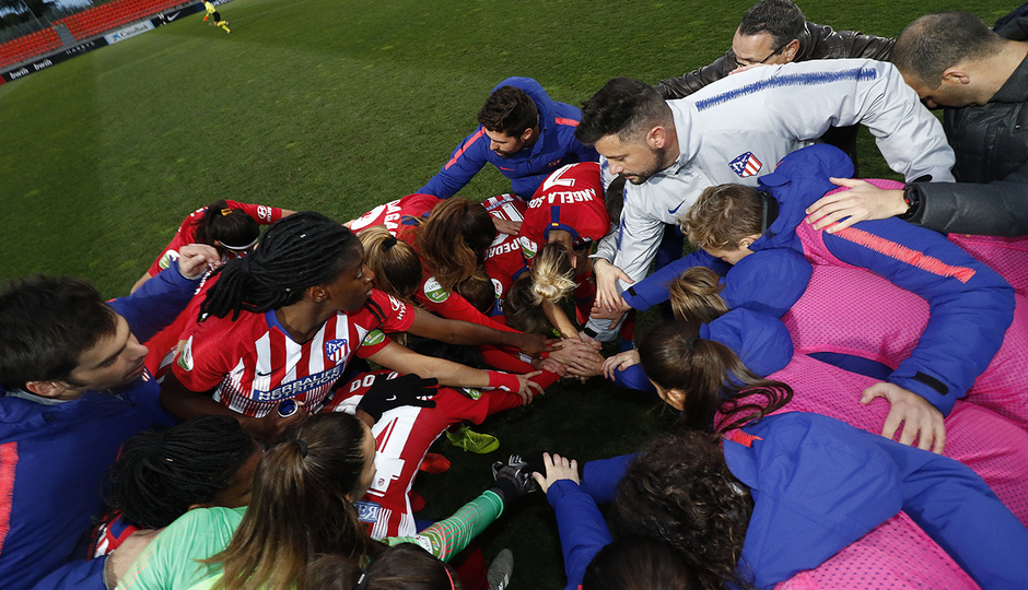 Temporada 18/19 | Atlético de Madrid Femenino - Málaga | Piña