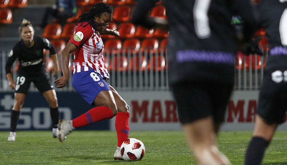 Temporada 18/19 | Atlético de Madrid Femenino - Málaga | Ludmila