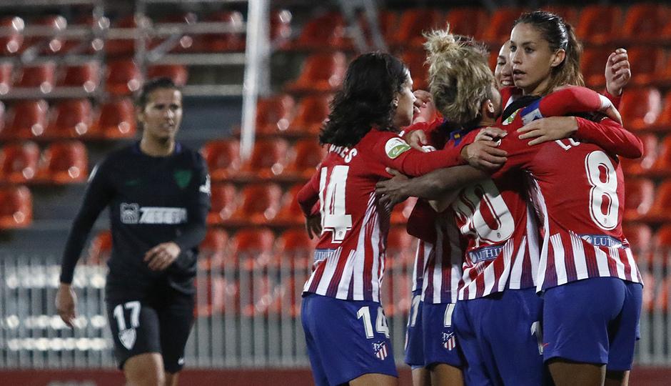 Temporada 18/19 | Atlético de Madrid Femenino - Málaga | Gol