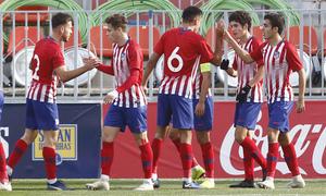 Temp. 18-19   Juvenil A - Mónaco   Youth League   Celebración 2