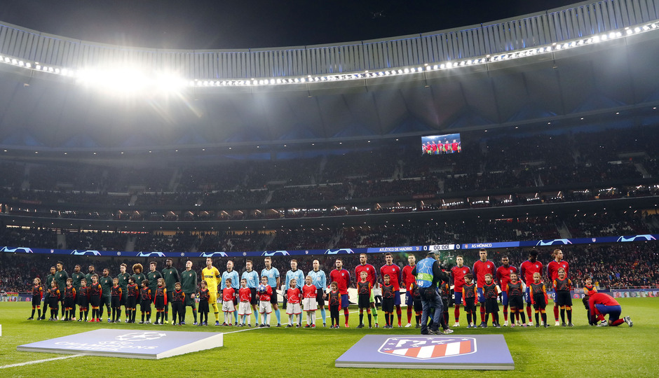 Temp. 18-19 | Atlético de Madrid - Mónaco | equipos