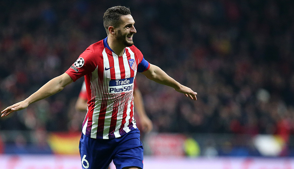 Temp. 18-19 | Atlético de Madrid - Mónaco | Koke