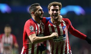 Temp. 18-19 | Atlético de Madrid - Mónaco | Koke y Griezmann