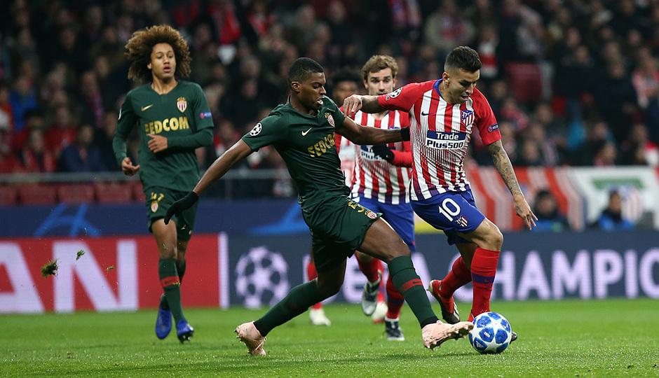 Temp. 18-19 | Atlético de Madrid - Mónaco | Correa