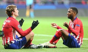 Temporada 18/19 | Atlético de Madrid - Mónaco | Griezmann y Lemar