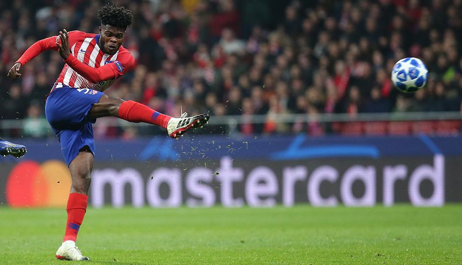 Temporada 18/19   Atlético de Madrid - AS Mónaco   Thomas