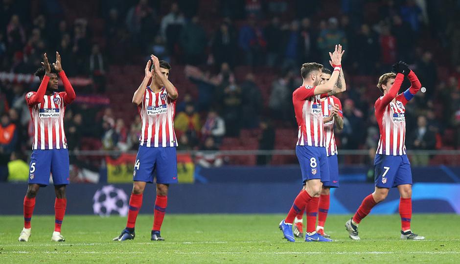 Temporada 18/19   Atlético de Madrid - AS Mónaco   grupo