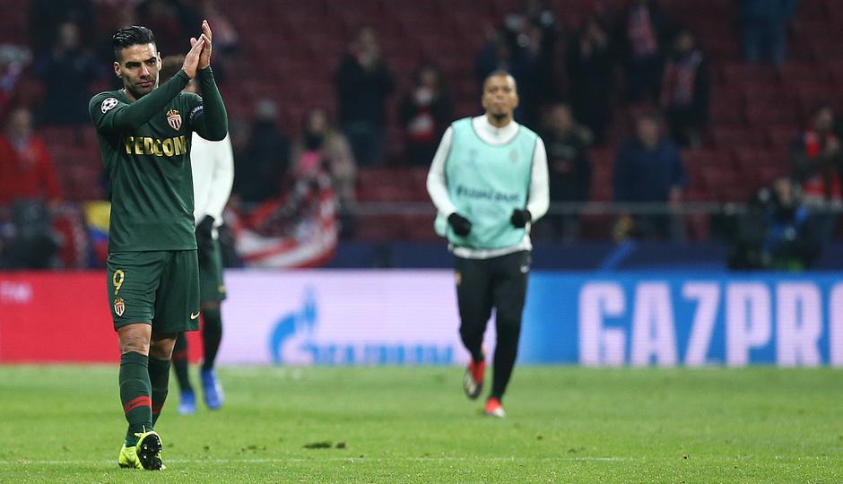 Temporada 18/19   Atlético de Madrid - AS Mónaco   Falcao