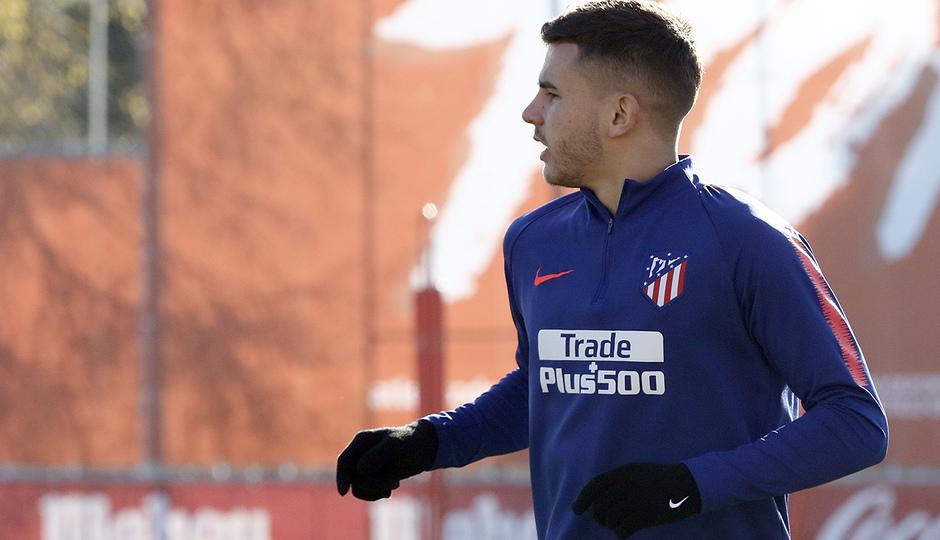 Temporada 18/19 | Entrenamiento en la Ciudad Deportiva Wanda | 30/11/2018 | Lucas