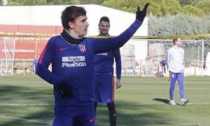 Temporada 18/19 | Entrenamiento en la Ciudad Deportiva Wanda | 30/11/2018 | Griezmann
